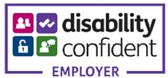 Disability confident employer.