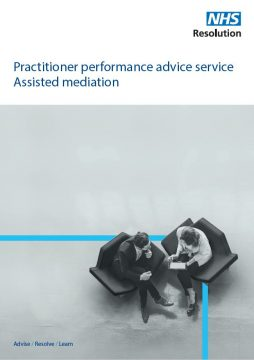 Link to Guide to assisted mediation resource