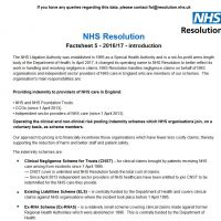 Read more: Factsheet 5 – Trust and authority claims data 2016-17