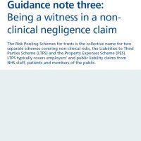 Read more: Being a witness in a non-clinical negligence claim