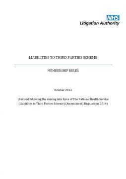 Link to Liabilities to Third Parties Scheme (LTPS) rules resource