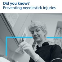 Read more: Preventing needlestick injuries