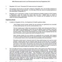 Read more: Primary Care Appeals – Regulation 24 (pharmacy relocation) guidance note