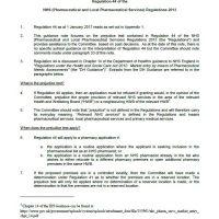 Read more: Primary Care Appeals – Regulation 44 (prejudice test) guidance note