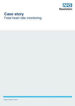 Link to Managing fetal heart rate monitoring resource