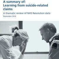 Read more: Learning from suicide-related claims – the summary