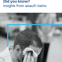 Read more: Insights from assault claims