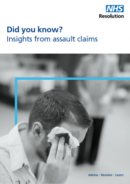 Link to Insights from assault claims resource