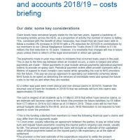 Read more: NHS Resolution Annual report and accounts 2018/19 – Costs briefing
