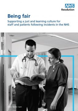 Link to Being fair report resource