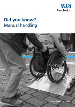 Did you know manual handling leaflet